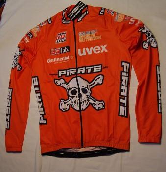 Pirate Team 16 L/A Trikot Orange