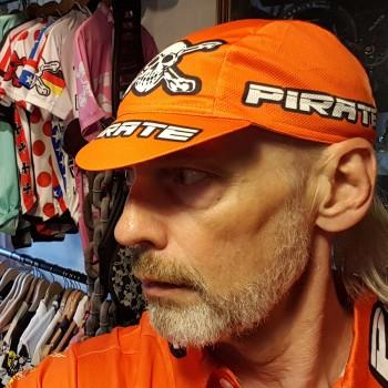 Pirate Renncap Team Orange