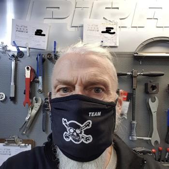 Mask Black Skull