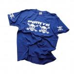 camiseta Pirate Straight-azul