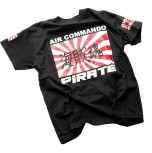 Pirate T-Shirt Black Air Shirt 4/L