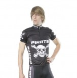 Pirate TRIKOT K/A Schwarz 7/XXXL