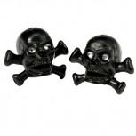 VENTIL-Skulls black