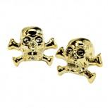 VENTIL-Skulls gold