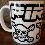 Pirate Mug, Skulls
